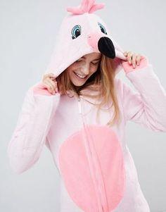 Loungeable Flamingo Pink 3D Onesie