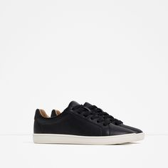 PLIMSOLLS WITH LACES - View all - SHOES - WOMAN | ZARA United States