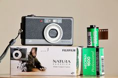 Natura Classica  A point and shoot Fuji camera designed for 800+ (or preferably 1600) ISO film