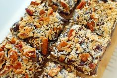 """Hello Vegan"" Bars - from Let Them Eat Vegan #vegan www.plantpoweredkitchen.com"