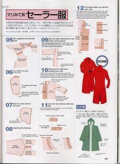 Bildergebnis für edward elric jacket pattern