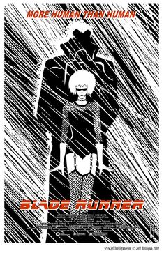 Vintage Style Blade Runner Poster by jhulligan on Etsy