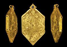 Nativity Reliquary Pendant, 15th century A.D.