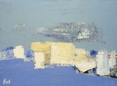 'Paysage méditerranéen' (1954) by Nicolas de Staël