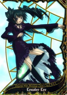 D Gray Man_Trading Card_Shining Clear Card Vol2_Lenalee