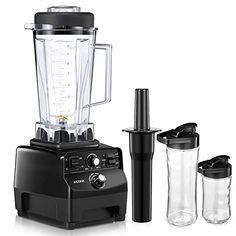 VonShef 1000 W bocal en verre Blender Smoothie Maker Carafe Meuleuse Ice Crusher machine