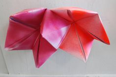 origami on large card