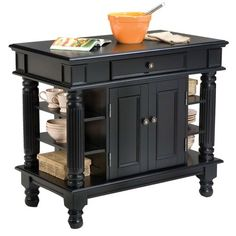 I pinned this Calais Kitchen Island from the Kitchen & Dining Furniture event at Joss and Main!