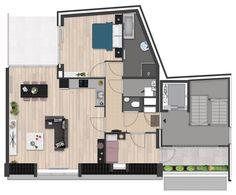 2,5D - Appartement 2