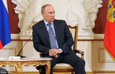 Putin expended an awful lot of energy today trying to calm an unexpected erection.