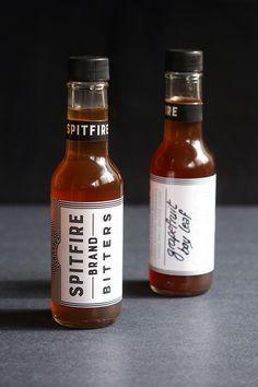 Spitfire Bitters. 2015  By @jrlefrancois  #bitters #smallbatch #labels #bottle