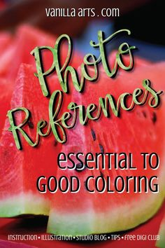 Why you should add photo reference searches to your Copic coloring routine. | VanillaArts.com