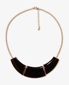 Sectional Lacquer Necklace