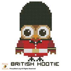 Hootie British Palace Guard - PinoyStitch