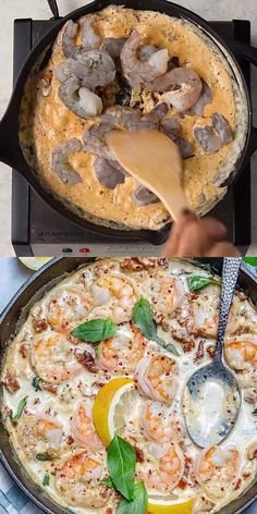 Shrimp Recipes For Dinner, Healthy Dinner Recipes, Baked Shrimp Recipes, Healthy Meal Prep, Healthy Chicken Recipes, Lunch Recipes, Thai Food Recipes, Soul Food Recipes, Quick Meals For Dinner