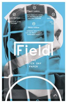 Field The Matchday Paper, 13 April Magazine Cover Layout, Magazine Front Cover, Sports Magazine Covers, Andy Carroll, Primal Scream, Fitness Design, Sport Photography, Super Sport, Media Design