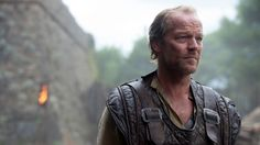 The actor behind Jorah Mormont talks about his fight scenes in Season 5,  getting to know Tyrion, and his enduring love for Daenerys.