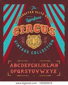 Bilderesultat for circus lettering