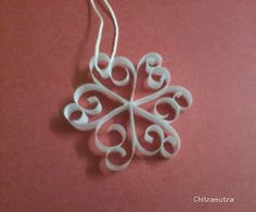 Chitrasutra: Quilled christmas ornaments