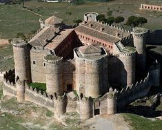 Castillo de Belmonte. Cuenca. España