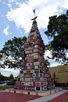 Places that take you back in time: Monument of States, Kissimmee