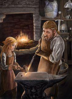 The Last Princess series - dwarfs