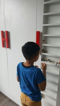 Lego storage door #storage #smallroom #lego #door #walkincloset