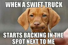 U will only get this if u are a trucker! Oh SWIFT...