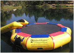 Water Trampoline-So Much Fun!