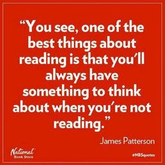 .It's true--I spend a lot of time thinking about my favorite stories even when I'm not actively reading.