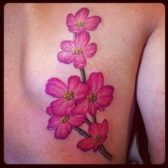 dogwood flower tattoo (16)