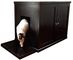 The Refined Feline Refined Litter Box, Large, Espresso >>> Check out this great article. #CatLitterandHousetraining