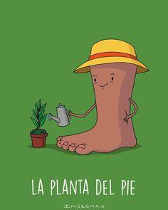 La Planta del Pie  Humor podológico de Ingesman