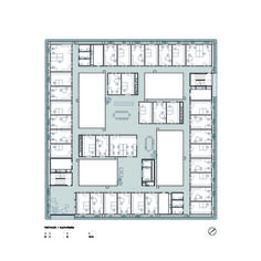 Research Center ICTA-ICP · UAB,First Floor Plan