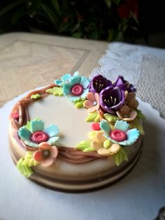 Floral agar/jelly Cake   #jellycake #thạchhoanổi #agarcake