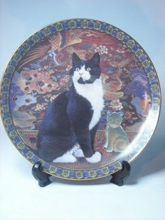 Choose ONE OR MORE Plates CATS AROUND THE WORLD Danbury Mint - Plate