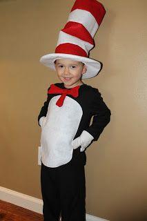 cat in the hat costume tutorial - Cat In The Hat Halloween Costume Ideas