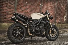 Speed triple « edition vintage » // creativ garage