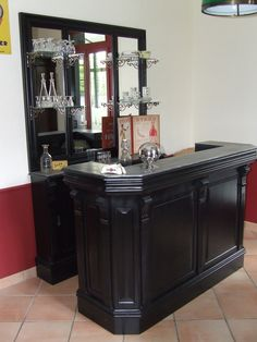Bar et verrier 1920 Peter & Martine antiquaires à L\'Isle-sur-la ...