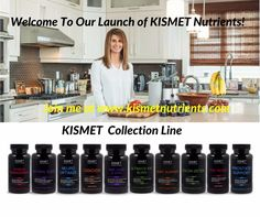 Welcome to #KISMET #Nutrients Launch! We are now live! I am so excited to share this with all of you! Join us in the KISMET of Health. Harnessing the essence of natural nutrients that synergistically work together to give your body a holistic approach to nourishment from head to toe. Please click on link www.kismetnutrients.com