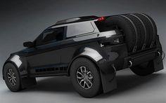 Land-Rover-Range-Rover-Evoque-dakar-black-side-shot