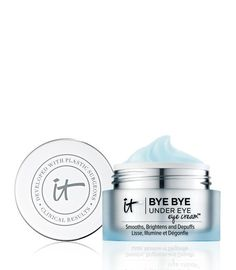 Discover IT Cosmetics' Bye Bye Under Eye Eye Cream. Our eye cream brightens the under eye area to make you look well rested. Say bye bye to tired eyes! It Cosmetics, Homemade Moisturizer, Homemade Skin Care, Anti Aging Treatments, Eye Treatment, Skin Treatments, Anti Aging Cream, Anti Aging Skin Care, Bye Bye