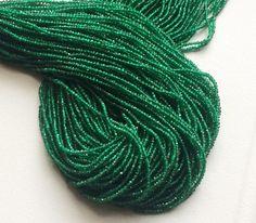 WHOLESALE 5 Strands Green Onyx Beads Original by gemsforjewels
