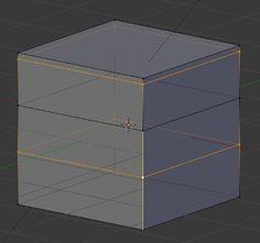 La nuova funzione Edge Loop offset permette una facile multipla suddivisione