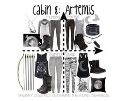 """""""Cabin 8: Artemis"""" by aquatic-angel on Polyvore featuring rag & bone, J Brand, maurices, Steve Madden, River Island, ABS by Allen Schwartz, Bling Jewelry, WearAll and UGG Australia"""