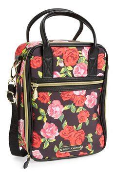 Betsey Johnson Handbag Cheetah Rose Backpack Handbags