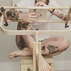 Tinycup needleworks ➰