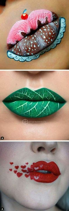 Lip art masterpieces kiss boring beauty looks goodbye Loading. Lip art masterpieces kiss boring beauty looks goodbye Makeup Art, Lip Makeup, Beauty Makeup, Prom Makeup, Makeup Ideas, Makeup Tutorials, Makeup Tools, Diy Beauty, Fairy Makeup