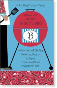 Barbeque Party invitations