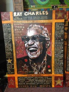 Ray Stephenson is a Grammy Award winning, Platinum selling singer/songwriter and painter from Nashville, TN. Paintings For Sale, Original Paintings, No Shoes Nation, Soul Jazz, Ray Charles, Rare Gems, Willie Nelson, Jazz Music, Personal Photo